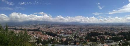 Vista Panorámica de Cuenca.