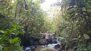 Caminata por la selva.