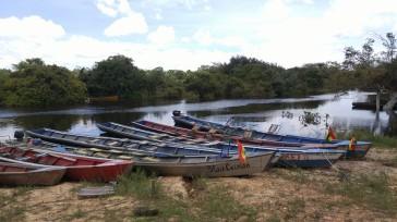 Barcas en el Puerto Tucuman.