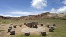Mesa de Sacrificios. Bolivia.