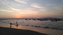 Playa de Paracas.