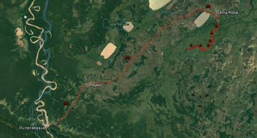 Navegación por el Río Yacuma.