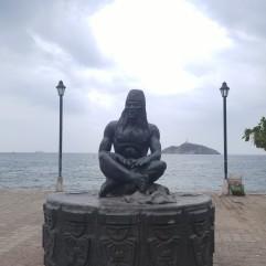 Estatua Indígena Tayrona.