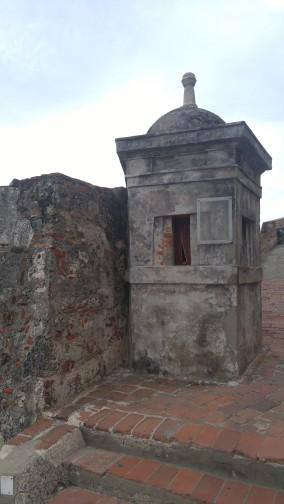 Castillo de San Felipe de Barajas.
