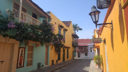 Calle de Cartagena de Indias.