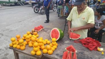Frutas. Puerto de Nanay.