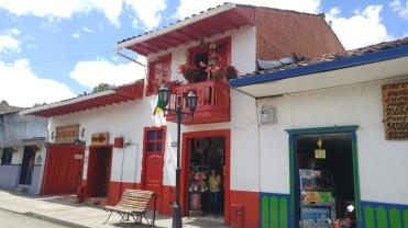 Calles de Salento.