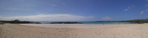 Playa de Garrapatero. Santa Cruz.