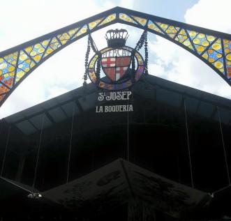 Mercado de la Boqueria.