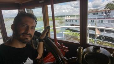 Barco de Vapor.