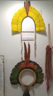Museo de Culturas amazónicas. Tocados de ceremonias.
