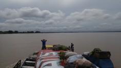 Llegando a Iquitos.