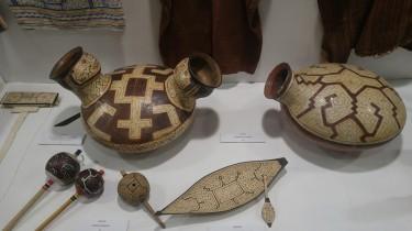 Museo de Culturas amazónicas. Cerámica Shipibo.