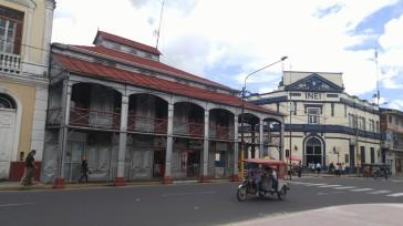 Plaza de Armas de Iquitos.