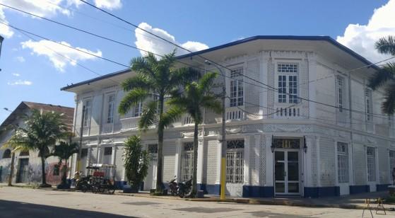 Casas típicas de Iquitos.