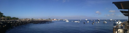 Puerto Baquerizo Moreno.