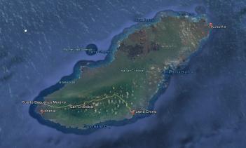 Lugares visitados en San Cristobal.