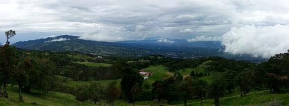 Vista de montaña.