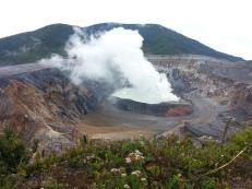 Volcán Poas.