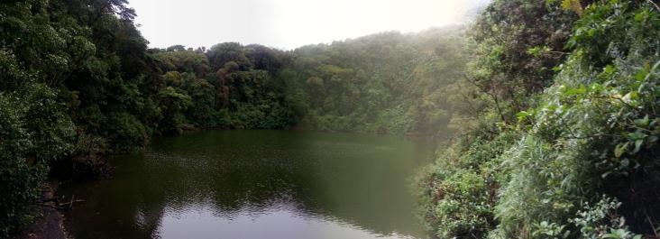 Volcán Barva. Parque Nacional Braulio Carrillo.
