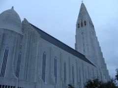 Catedral de Reikiavik.