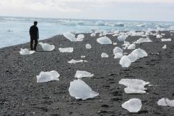 Playa Glaciar Vatnajökull.