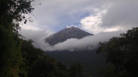 Volcán Tungurahua.