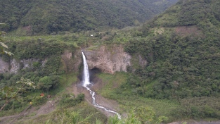 Ruta de las cascadas.