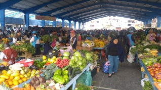 Mercado de frutas y verduras de Baños.