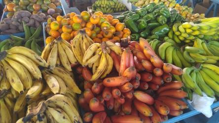 Frutas en el Mercado.