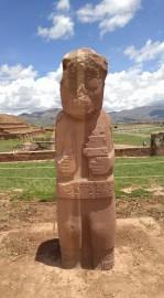 Formas humanas Tiahuanaco.