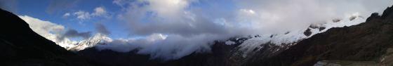 Nieves en las cumbres.