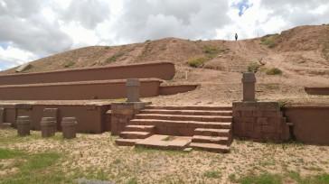 Ciudad de Tiahuanaco.
