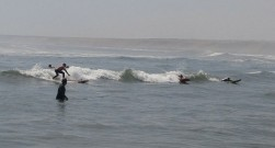 Surf en Huanchaco.