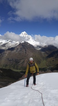 Cumbre Nevado Mateo.