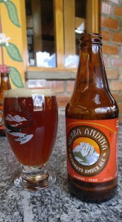 Cerveza Sierra Andina.
