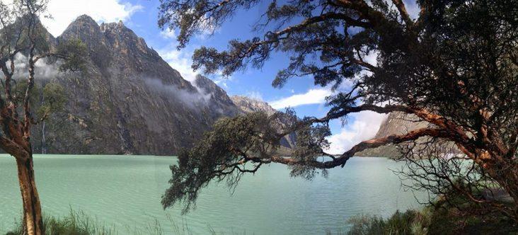 Laguna Llanganuco.