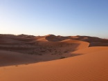 Erg Chebbi, desierto del Sahara.