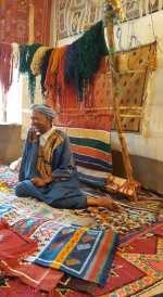 Vendedor de alfombras.