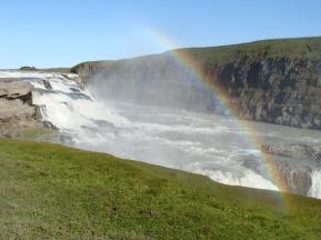 Cascada Gullfoss.